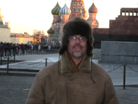 Greg Yoder in Moscow