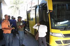 Bus ride to Haiti