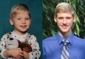 Nikolas Yonker before and now.